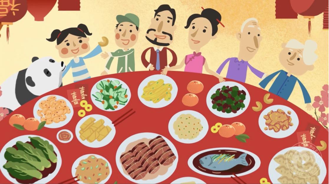 如何用英文介紹農曆新年會做什麼?